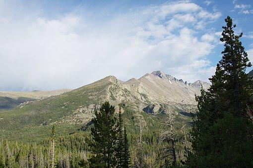 Rocky, Landscape, Mountains, Colorado, National Park