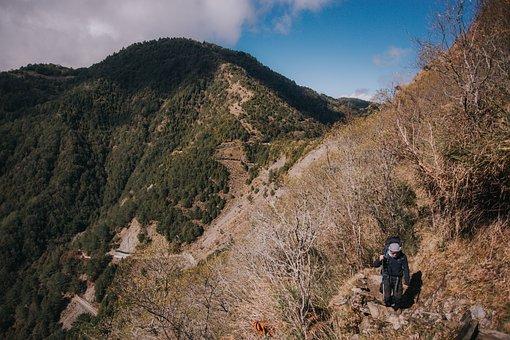 Taiwan, Mountain, Landscape, Mountain Climbing, Hiking