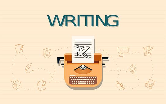 Typewriter, Writing, Paper, Design, Copy Editing