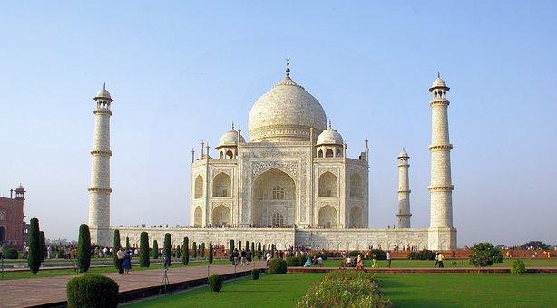 India, Agra, Taj Mahal, Tomb, Mausoleum, Marble, Islam