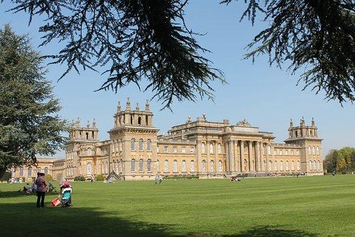 Building, Palace, Castle, Garden, Blenheim Palace