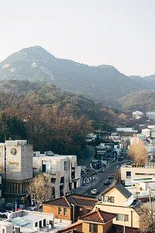 City, View, Landscape, Travel, Aerial View