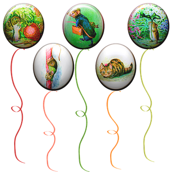 Balloons, Cats, Rat, Mouse, Cat Balloon, Cute