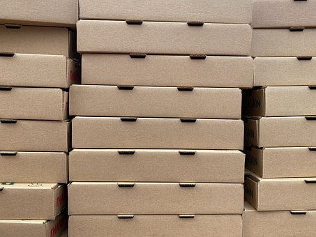 Boxes, Cardboard, Pizza Boxes, Pizza, Delivery
