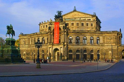Opera House, Dresden, Semper Opera House, Architecture