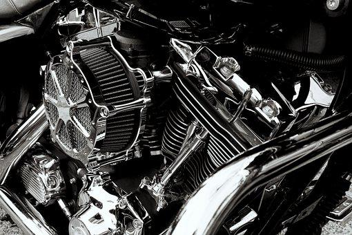 Engine, Harley Engine, Car Motorcycle Show