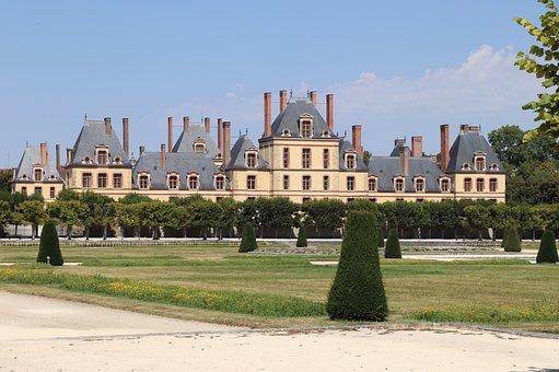 Castle, Building, Monument, Royal, Garden