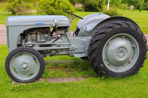 Tractor, Motor, Engine, Lamp, Vehicle, Machine