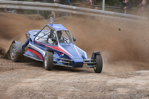 Motorsport, Autocross, Race, Dirt, Vehicle, Driver