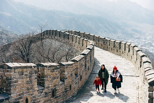 Great Wall Of China, Beijing, China, Asia, Chinese