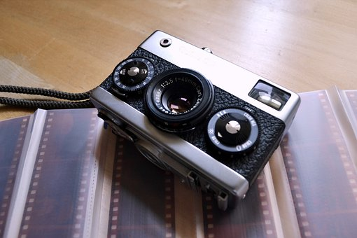Camera, Analog, Film, Lens, Vintage, Retro, Polaroid