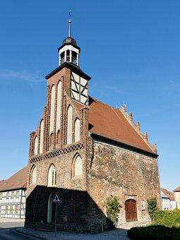 Angermünde, Church, Holy Spirit Chapel, Brick Gothic