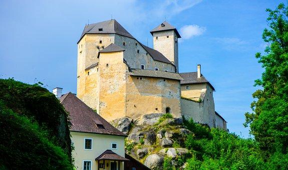Rapottenstein, Castle, Fortress, Castle Tower, Knight