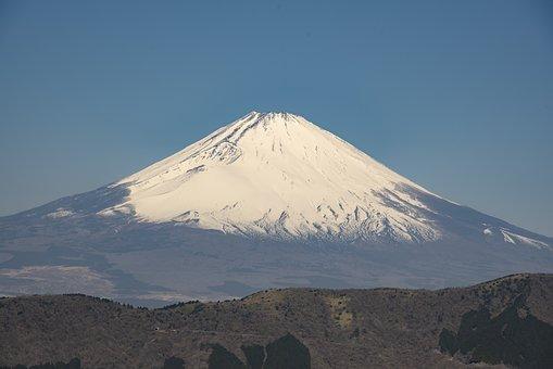 Japan, Fuji, Mt Fuji, Volcano, Landscape, Mountain, Sky