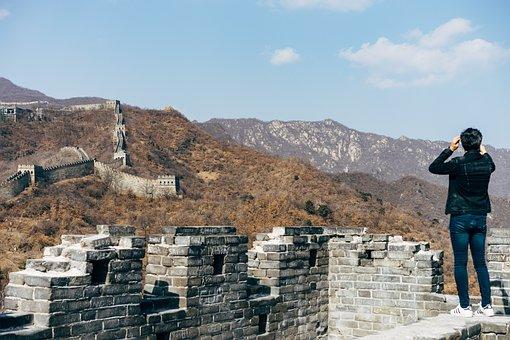 Mutianyu, Great Wall Of China, Beijing, China, Asia