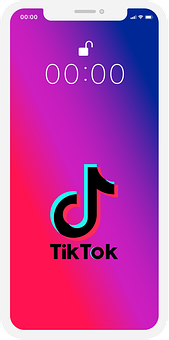 Tiktok, Social Media, Smartphone, Iphone
