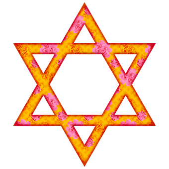 Star Of David, Judaism, Jewish, Shield Of David