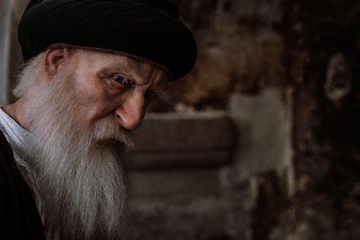 Old Man, Dervish, Old, Loneliness, Turkey, Konya