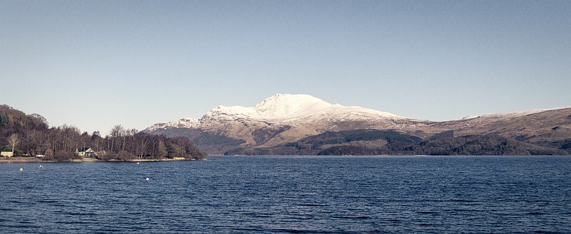 Scotland, Hill, Lake, Loch, Loch Lomond, Nature
