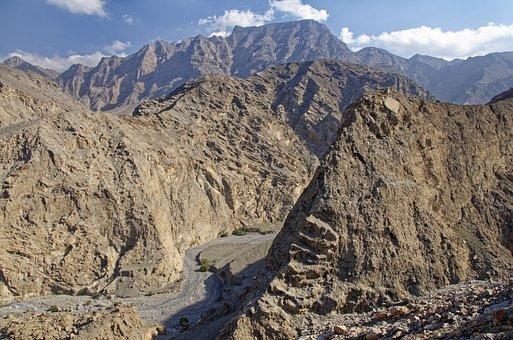 Oman, Musandam, Habinsel, Exclave, Landscape