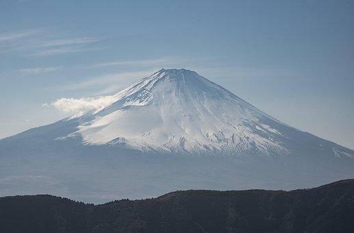 Mount, Fuji, Volcano, Japan, Landscape, Mountain