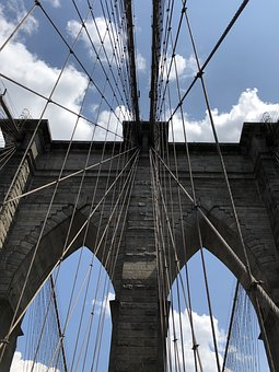 New York, Ny, Brooklyn Bridge, Brooklyn, Nyc, Manhattan