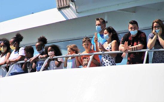 Ferry, Ship, Passenger, Cruise, Mask, Covid-19
