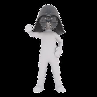 Star Wars, Darth Vader, Film Character, 3d, Vader