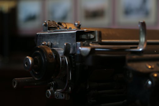 Typewriter, Old Typewriter, Vintage, Retro, Letterpress
