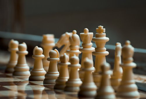Chess, Chess Board, Chess Pieces, Strategy, Game, Play