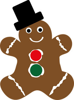 Gingerbread, Christmas, Cookie, Holiday
