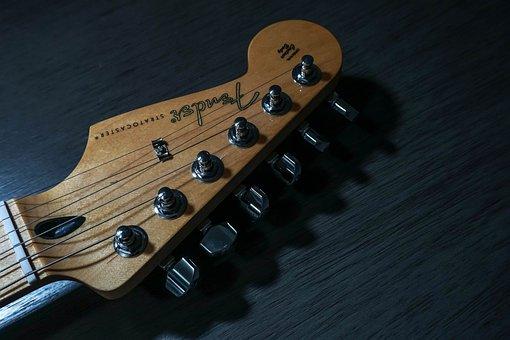 Guitar, Fender, Instrument, Musical, Musician, Music