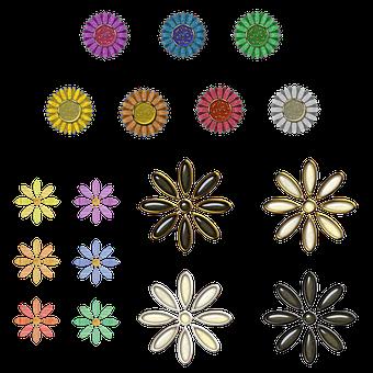 Flowers, Floral, Decorative, Decoration