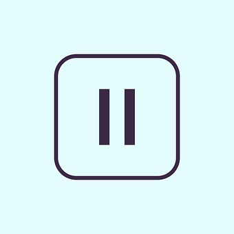 Pause, Button, Pause Button, Player, Multimedia, Icon