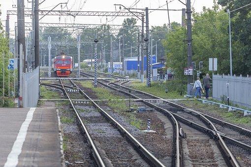 St Petersburg, Russia, Leningrad, Railroad, Railway
