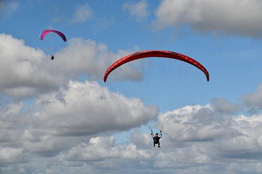 Paragliding, Paraglider, Tandem Paragliding, Aircraft