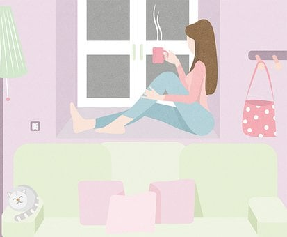 Woman, Leisure, Relaxation, Relax, Coffee, Cup, Cozy