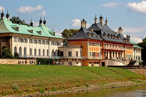 Castle, Buildings, Dresden, Saxony, Historically