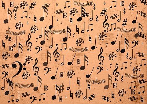 Music, Clef, Treble Clef, Notenblatt, Sheet Music