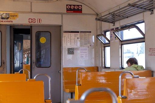 St Petersburg, Russia, Leningrad, Petersburg, Train
