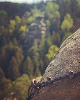 Sand Stone, Climbing, Nature, Saxony, Zittau, Hiking