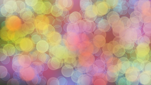 Bokeh, Pattern, Circle, Colorful, Designe, Abstract