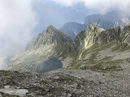 Pizzo Di Claro, Lake Canee, Alpine Route, Alps, Alpine
