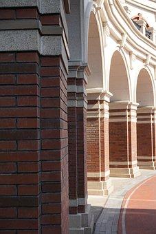 Building, Columns, Pillars, Stone, Architecture, Arches