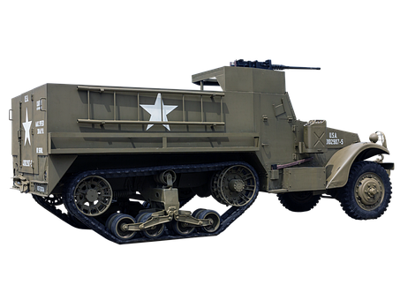 Military Truck, Truck, Armored Vehicle, Armed Forces