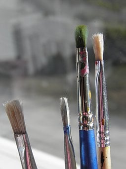 Brush, Paintbrush, Paint, Tool, Artistic, Art
