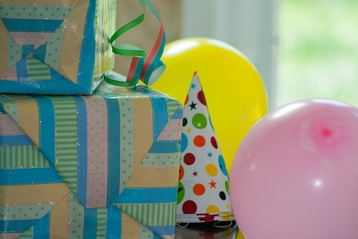 Birthday, Gifts, Presents, Colorful, Color, Yellow
