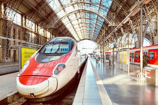 High Speed, Railway Station, Railway, Bullet Train