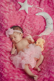 Baby, Infant, Newborn, Girl, Daughter, Young, Child