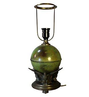 Lamp, Antique, Strindberg Lamp